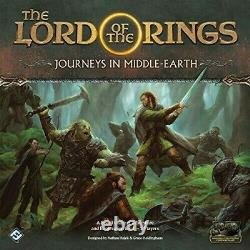 Lord Of The Rings Journeys In Middle-Earth New Board Game