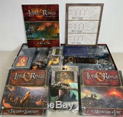 Lord Of The Rings LOTR LCG Collection! Sealed Expansions & More Living Card Game