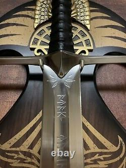 Lord Of The Rings Limited Edition Anduril Sword United Cutlery LOTR UC1380ASLB
