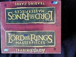 Lord Of The Rings Masterpieces Hobby Box Trading Card Factory Sealed