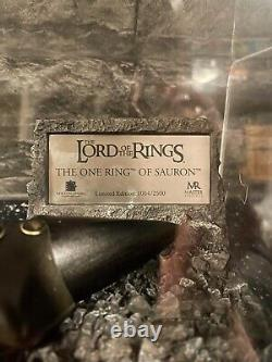 Lord Of The Rings Ring Of Sauron Master Replica 1064/2500