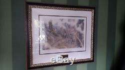 Lord Of The Rings Set Of 3 Lithographs By Sideshow Weta Signed By Peter Jackson