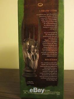 Lord Of The Rings Sideshow Weta HELM OF SAURON