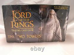 Lord Of The Rings Tcg Two Towers Sealed Booster Box Of 36 Packs