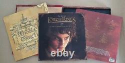 Lord Of The Rings The Fellowship Of The Ring Vinyl Soundtrack 5 LP Deluxe Box