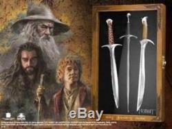 Lord Of The Rings The Hobbit Sting Orcrist Glamdring 3 Sword Letter Opener Set