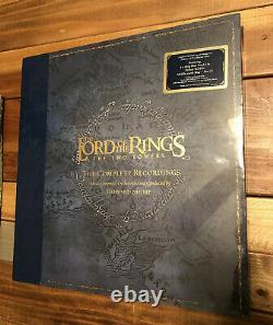 Lord Of The Rings Two Towers Rare Vinyl Soundtrack 5 LP Box Set SEALED NEW OOP