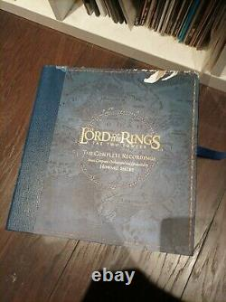 Lord Of The Rings Two Towers Vinyl soundtrack 5 X 12 LP