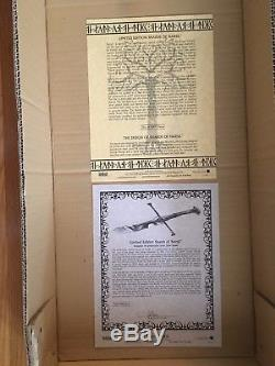 Lord Of The Rings UC1296 Shards of Narsil United Cutlery LoTR LE #1590 of 5000
