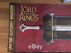 Lord Of The Rings UC1296 Shards of Narsil United Cutlery LoTR LE #1590 of 500