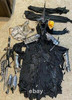 Lord Of The Rings Witch King Of Angmar Nazgul Costume Cosplay