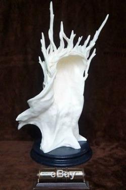 Lord of The Rings Hobbit Elvenking Thranduil Resin Bust Statue Unpainted 17
