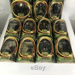 Lord of the Rings Action Figure Lot of 15 Brand New Toy Biz Orc, Saruman, Frodo