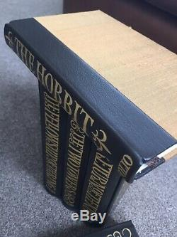 Lord of the Rings And The Hobbit Folio Society Deluxe Limited Edition