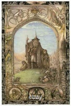 Lord of the Rings Art Poster 1988 Swiss Import24 x 36