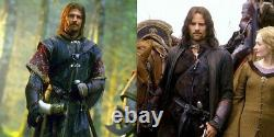 Lord of the Rings Boromir Aragorn Leather Bracers Vambraces Costume Gondor Armor