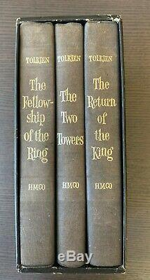 Lord of the Rings Box Set J. R. R. Tolkien 1965 Excellent Condition with Box