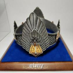 Lord of the Rings CROWN OF ARAGORN / KING ELESSAR The Noble Collection LOTR