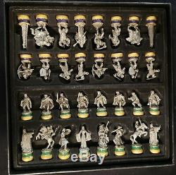 Lord of the Rings Deluxe Chess Set Noble Collection