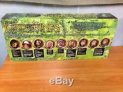Lord of the Rings FOTR Lothlorien Gift Pack Deluxe 9 Figure Set BNIB