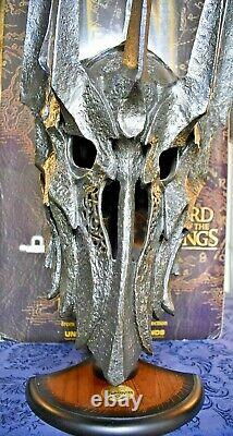 Lord of the Rings Helm Of Sauron UC1412 Authentic United Cutlery The Hobbit