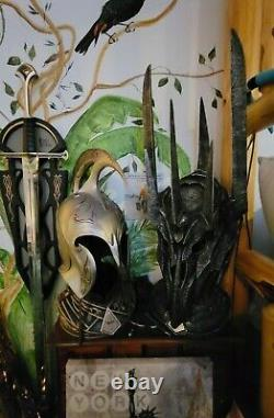 Lord of the Rings Helm Of Sauron UC1412 Authentic United Cutlery (Very Rare) NEW