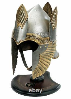 Lord of the Rings Helm of Isildur with Stand, LotR LARP Replica Helmet