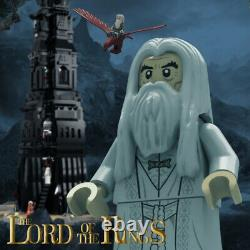 Lord of the Rings Hobbit Pinnacle of Orthanc 10237 Tower 4095 Blocks UCS Kid Toy
