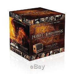 Lord of the Rings + Hobbit Trilogy Complete Limited Edition DVD/BluRay Boxed Set