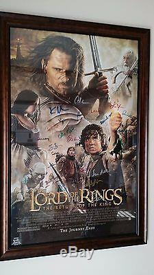 Lord of the Rings Huge Collection SIDESHOW, Furine, Sword, Signed Movie Poster++++