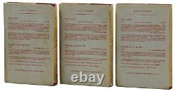 Lord of the Rings JRR TOLKIEN First Edition 1st Printings 1954 & 1955 J. R. R