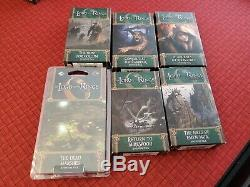 Lord of the Rings LCG Card Game Collection LARGE Lot (5 Cycles + 3 Sagas) GREAT