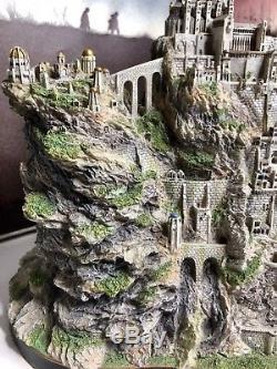Lord of the Rings LOTR-Danbury Mint MINAS TIRITH The Hobbit-HTF