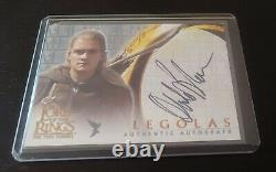 Lord of the Rings Legolas ORLANDO BLOOM Topps Autograph Card The Two Towers
