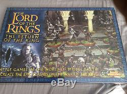 Lord of the Rings Return of the King Box Set Games Workshop RARE NEW in Wrap