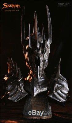 Lord of the Rings SAURON LEGENDARY SCALE BUST SIDESHOW WETA #9220, NEW MIB