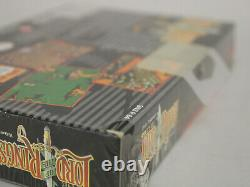 Lord of the Rings Super Nintendo SNES New Fact Sealed Vertical Seam Wata/VGA It