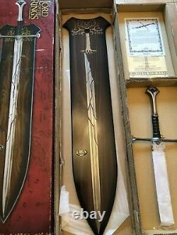 Lord of the Rings Sword UC1296 Shards of Narsil Limited Edition /5000