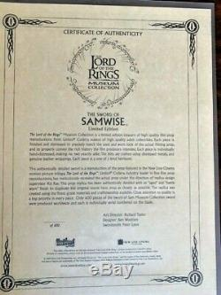 Lord of the Rings, Sword of Samwise Gamgee United Cutlery Museum Collection #216
