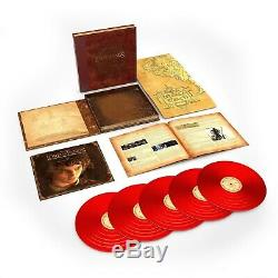 Lord of the Rings The Fellowship of the Ring RED Vinyl 5 LP Box Set Sealed New