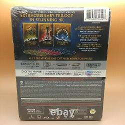 Lord of the Rings The Motion Picture Trilogy Digital 4K UHD Blu-Ray Box Set