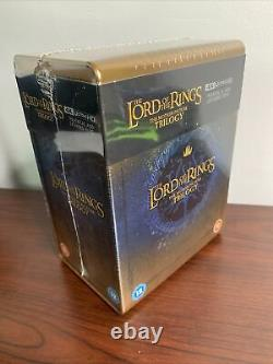 Lord of the Rings Trilogy Steelbook Lot (4K UHD Blu-ray) Sealed SOLD OUT