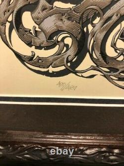 Lord of the Rings Trilogy by Aaron Horkey MONDO Screen Movie Print Poster LOTR