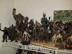 Lord of the Rings almost complete Action Figure Set, largest LOTR figure lot
