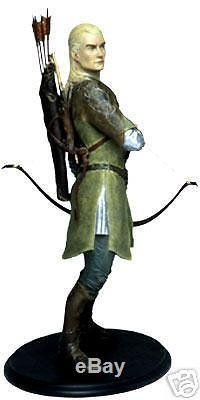 Lord of the rings Legolas Sideshow Weta statue. NIB The Hobbit