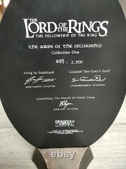 Lord of the rings Sideshow Weta Arms Of The Fellowship