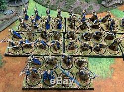 Lothlorien Galadhrim Army Pro Painted Games Workshop LOTR Lord of the Rings