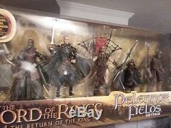 Lotr Lord Of The Rings Toy Biz Gift Lot Pack Pelennor Fields Helms Deep Battle