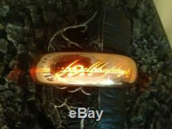 MASTER REPLICAS Lord OF THE RINGS SAURON FINGER REPLICA The Hobbit Sideshow
