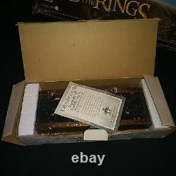 Master Replicas Sting Sword Glow Light Sounds Hobbit Lord of the Rings Lot of 2